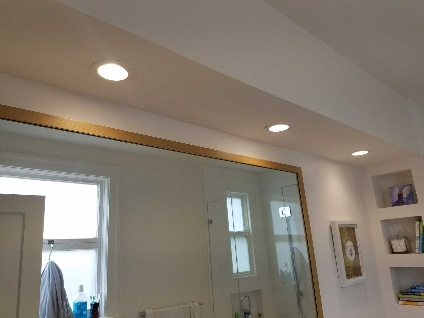 Recessed Vanity Lights